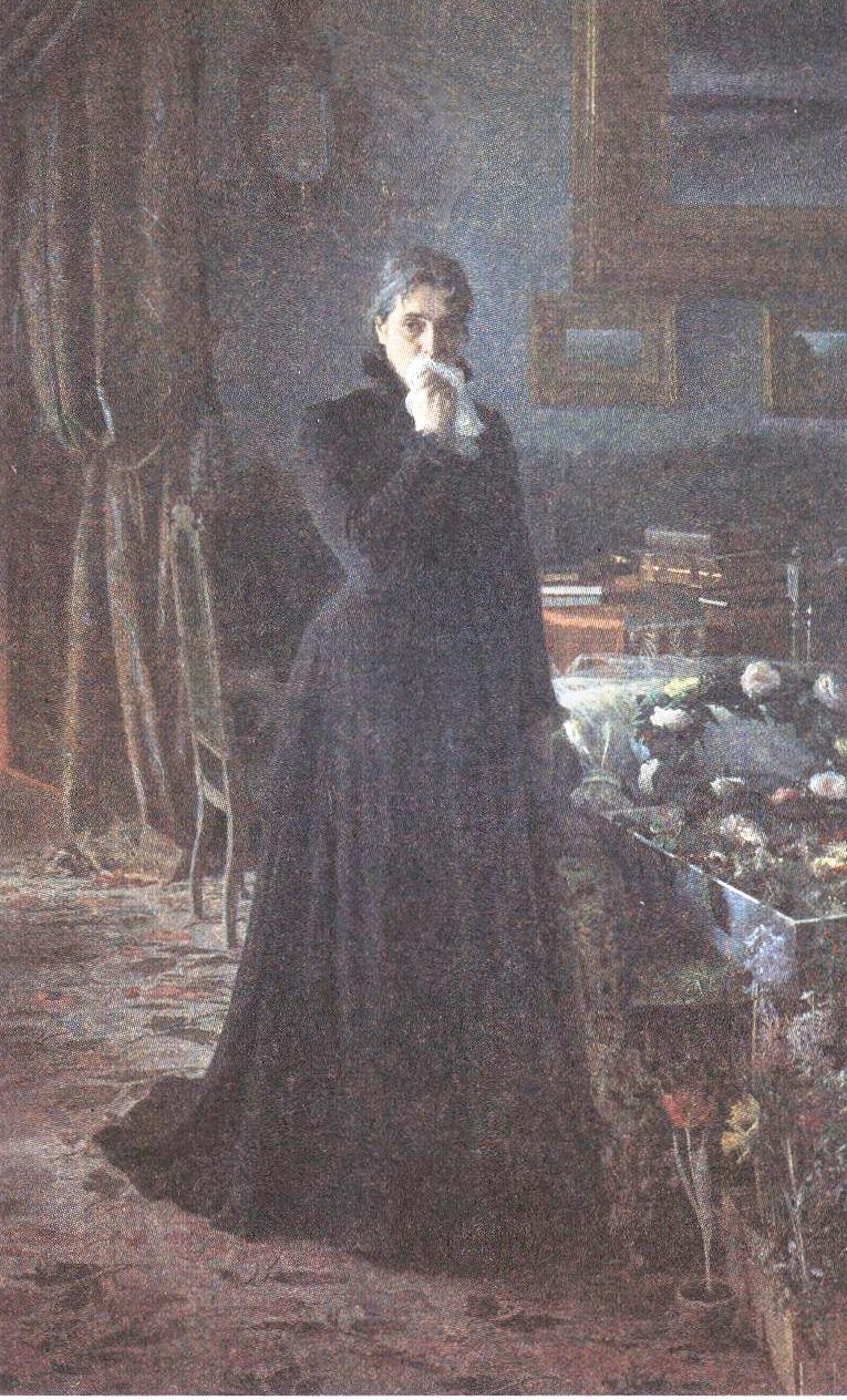 Иван Крамской. Неутешное горе. 1884