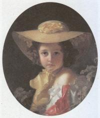 Иван Макаров. Портрет графини М.П.Толстой. 1852
