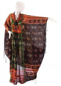 Кафтан из коллекции Элизабет Тейлор (дизайнер Теа Портер)