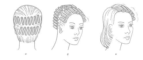 Как делать причёску на бигуди