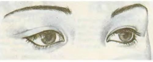 Как красить широко расставленные глаза