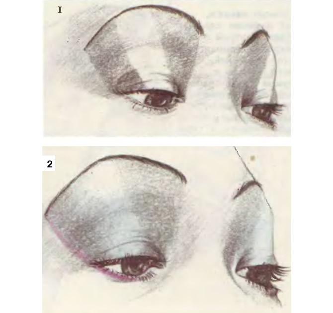 Как подчеркнуть косой разрез глаз