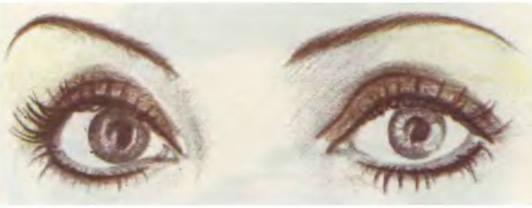 Как сделать глаза более круглыми
