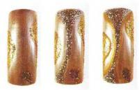 Капуччино и золотая/серебряная микропыль