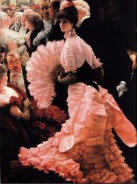 Картина «На приеме» (Дж. Тиссо, 1884)