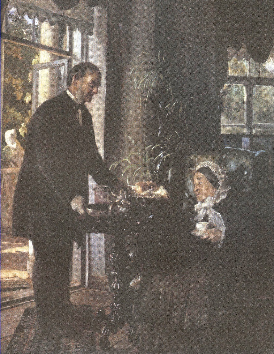 Константин Маковский. Помещица. 1886