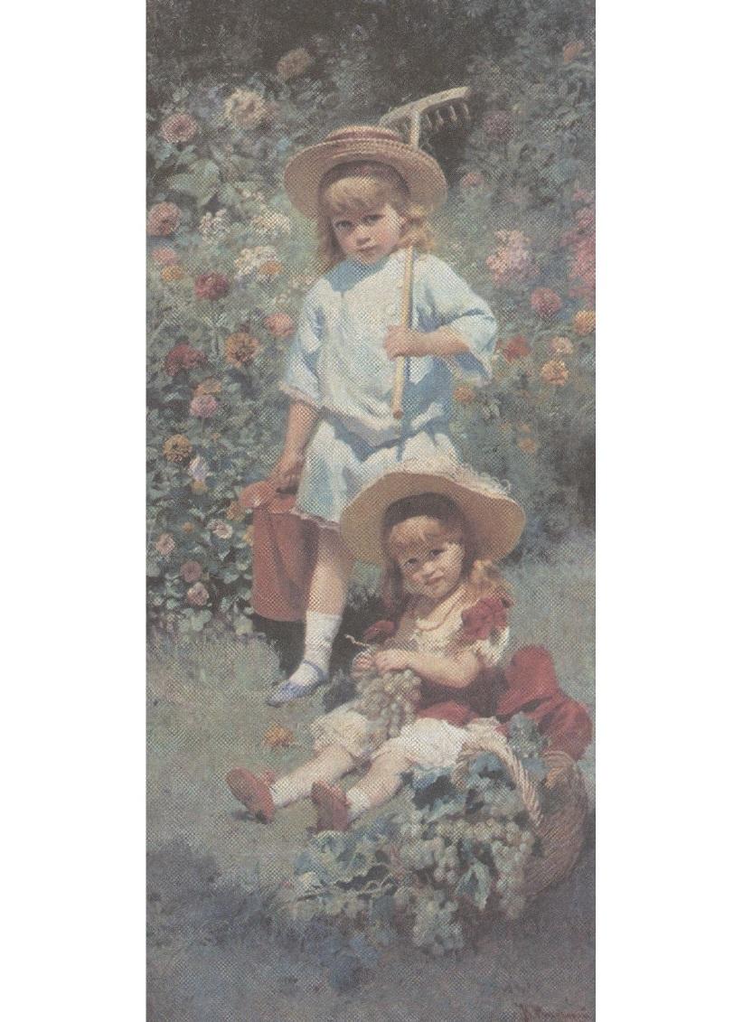 Константин Маковский. Портрет детей художника. 1882