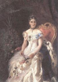 Константин Маковский. Портрет Марии Волконской