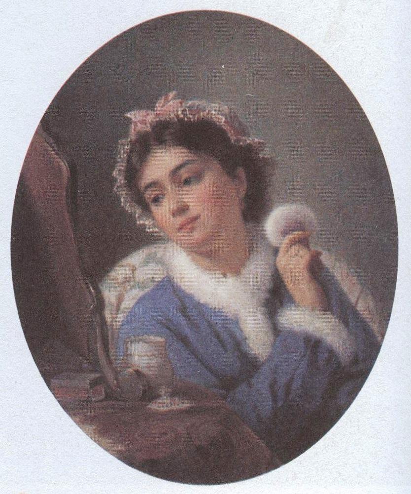 Константин Маковский. У туалета. 1863