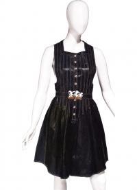 Кожаное платье-передник (Джин Муир, 1970-е)