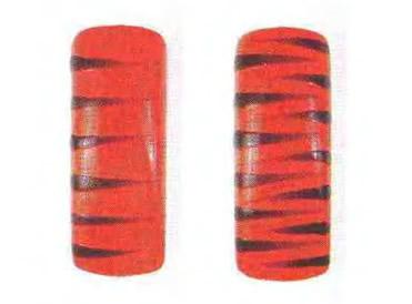 Красно-черная зебра