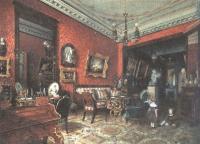 Людвиг Премацци. Гостиная Пашковой в доме Норова на Большой Конюшенной. 1847