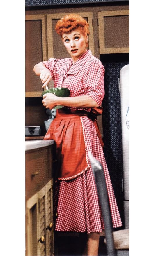 Люсиль Болл в комедийном телесериале «Я люблю Люси»