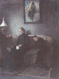 Михаил Клодт. Сироты. 1888