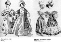 Мода 30-х годов XIX века