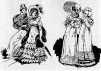 Мода эпохи Реставрации (1815-1825 гг.)