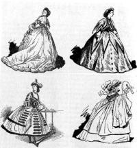 Мода эпохи второго Рококо (1850-1870 гг.)