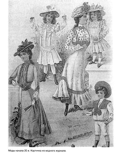 Мода начала XX века