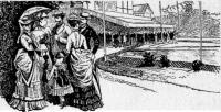 Парижская мода эпохи второй Империи (1870-1880 гг.)