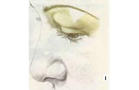 Нанесите основу на всю область вокруг глаз