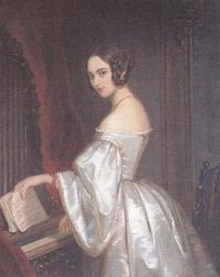 Неизвестный художник. Портрет Княгини М.И.Кочубей. 1840-е