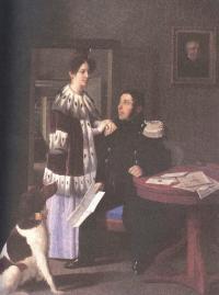Неизвестный художник. Семейный портрет. 1830
