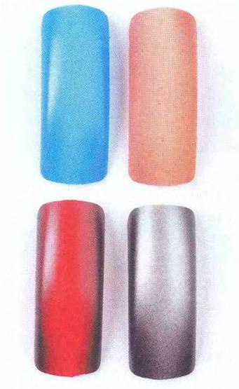 Ногти, оформленные контуром