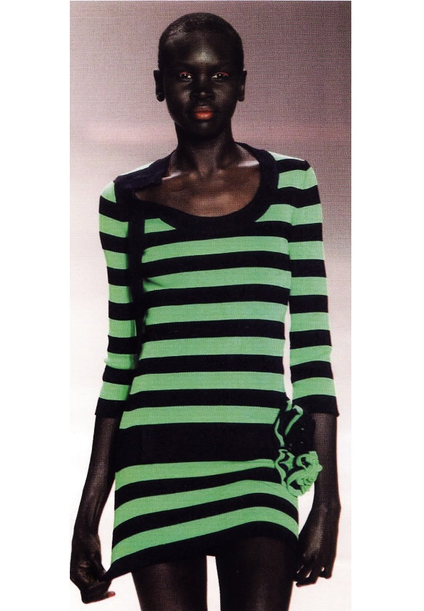 Облегающее платье-свитер (Соня Рикель, 2000)
