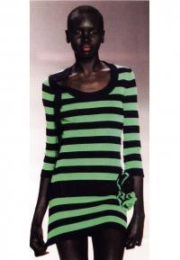 Вязаное платье - золотая середина в одежде для женщин