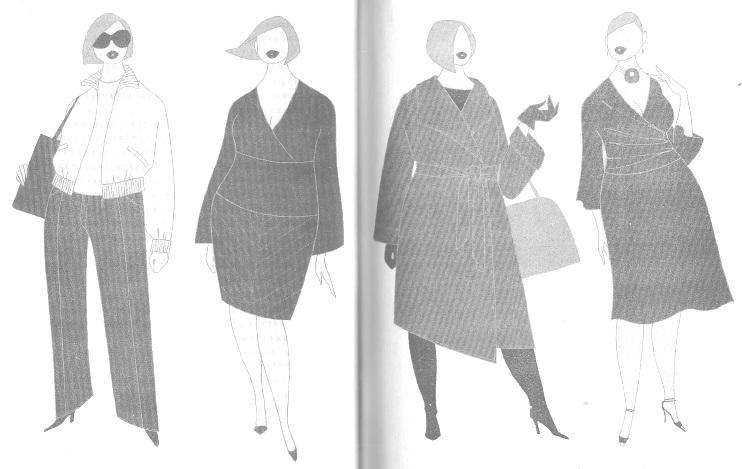 Одежда для женщин с фигурой типа Д