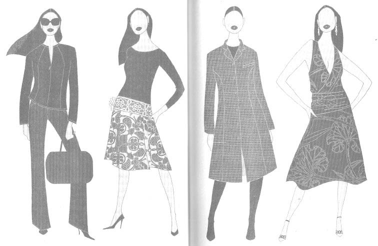 Одежда для женщин с фигурой типа В