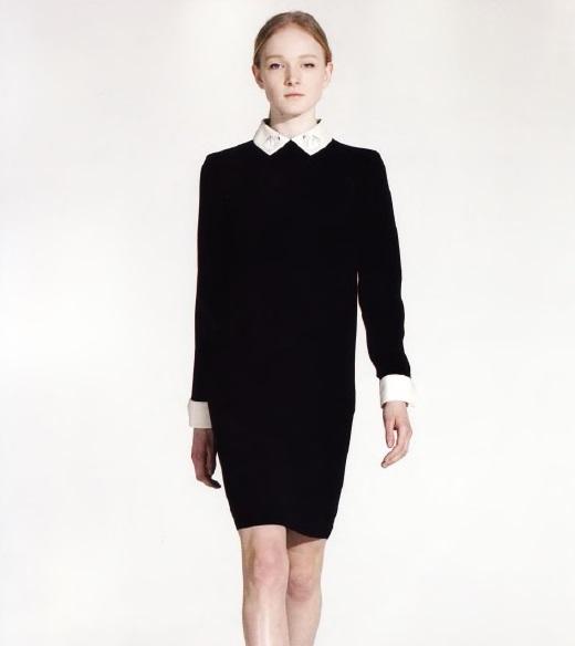 Осовременное маленькое чёрное платье (дизайнер В.Бекхэм)