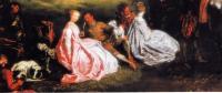 «Отдых во время охоты» (Ж.-А. Ватто, 1720г)