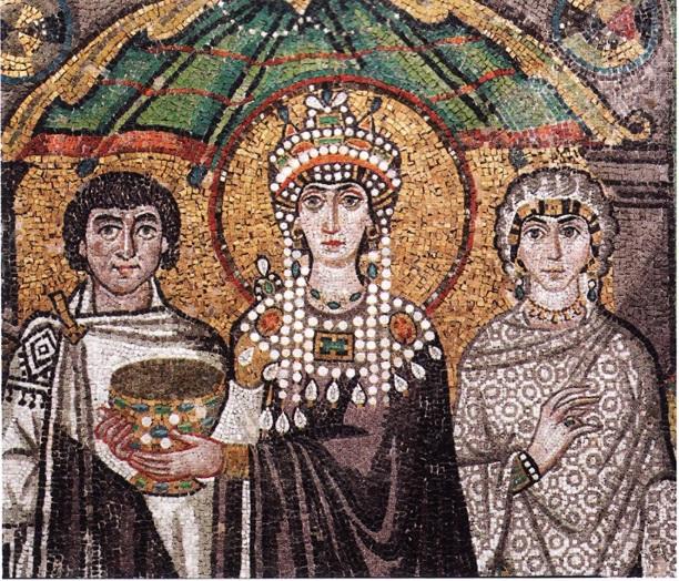 Парадное византийском императирицы Федоры