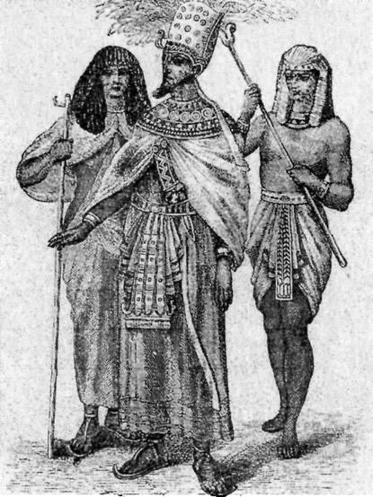 Парадный наряд фараона