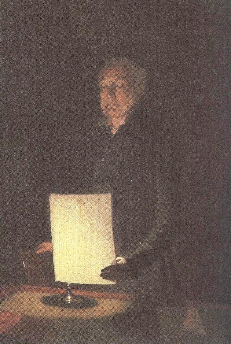 Павел Федотов. Портрет Егора Гавриловича Флуга. 1848
