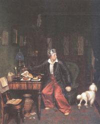 Павел Федотов. Завтрак аристократа. 1849-1850
