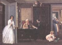 Павел Соколов. Разрешение на брак. 1857