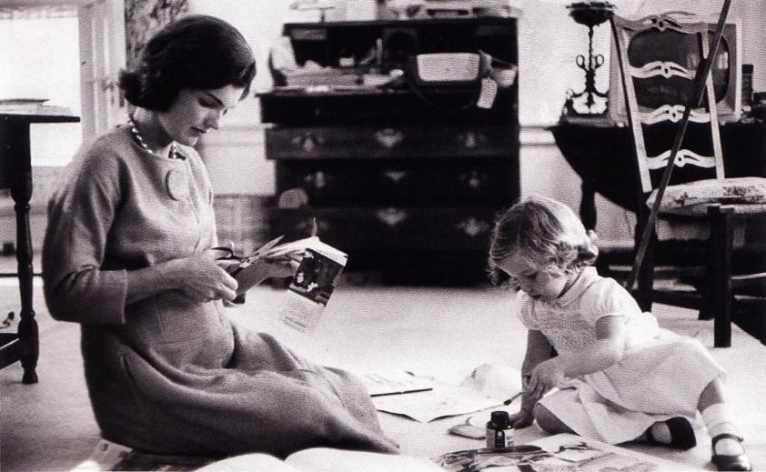 Первая леди США Жаклин Кеннеди