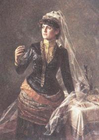 Пётр Колчин. Зазравный тост. 1892