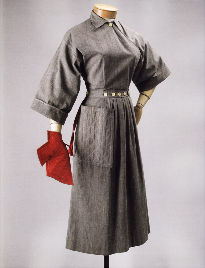 Платье-балахон (Клэр Маккарделл для Townly Frocks, 1942г.)