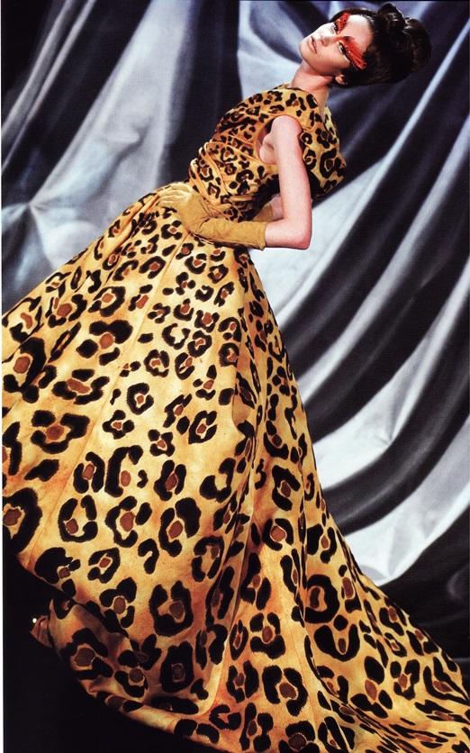 Платье Дж. Гальяно для  Dior Haute Couture (весна-лето 2008)