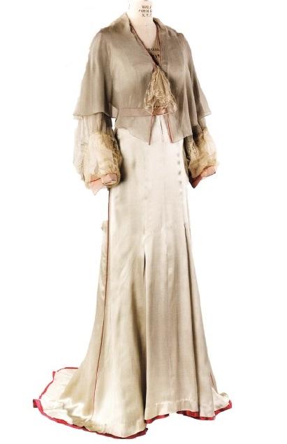 Платье фасона Неглиже (Дж.Тернер, 1940г)
