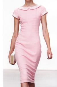 Платье-футляр из коллекции «Мадам Дюбарри» (дизайнер Л'Рен Скотт)