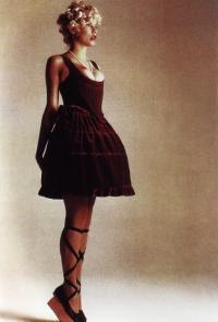 Платье из коллекции «Мини-Крини» (В. Вествуд, 1985г)