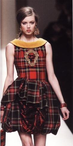 Платье из коллекции Р.Джардини (осень/зима 2003-2004 гт)