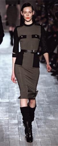 Платье от Виктории Бекхэм (осень/зима 2012-2013)