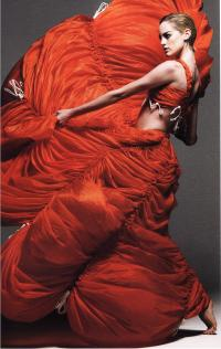 Платье-парашют из нейлона (Норма Камали, 1974)