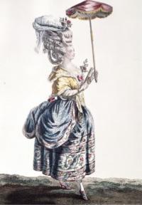 Платье-полонез (гравюра 1779 г.)