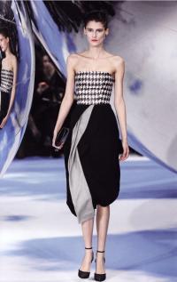Платье Рафа Симонса (Dior, осень-зима 2013-2014)